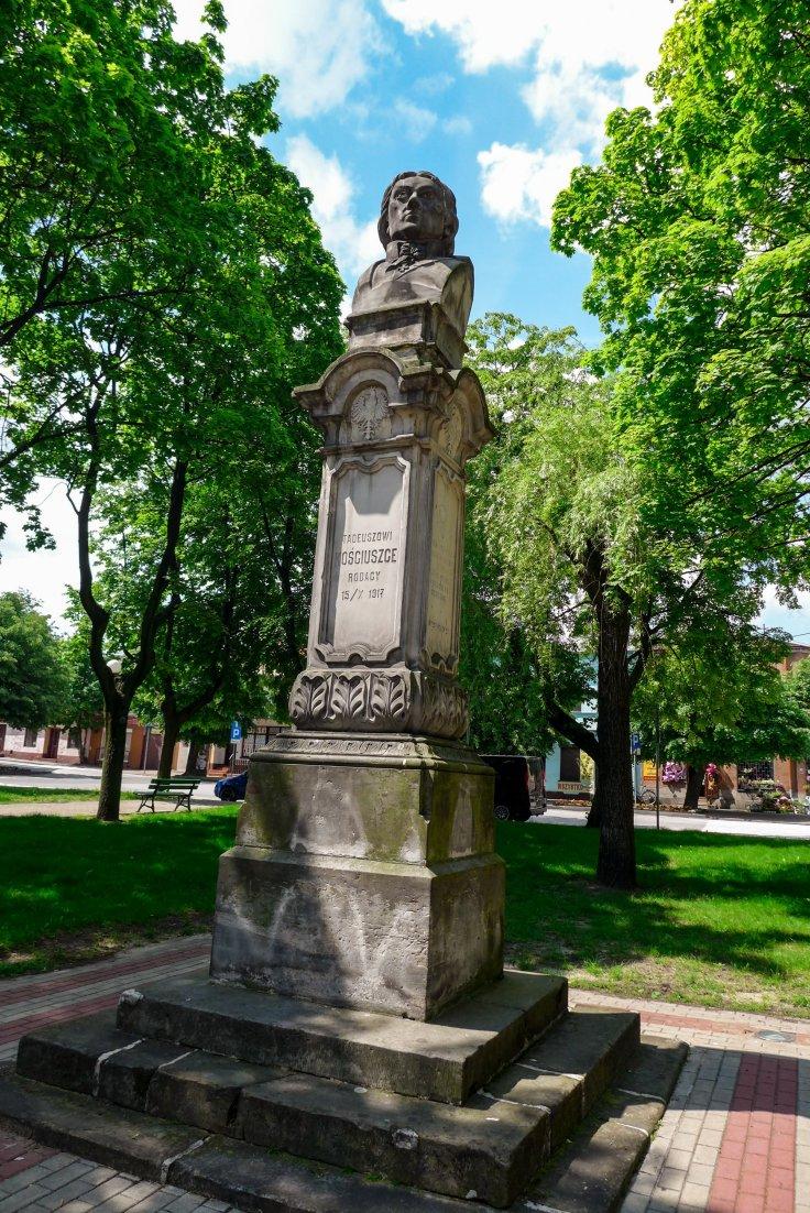 Pomnik Kościuszki, Opoczno