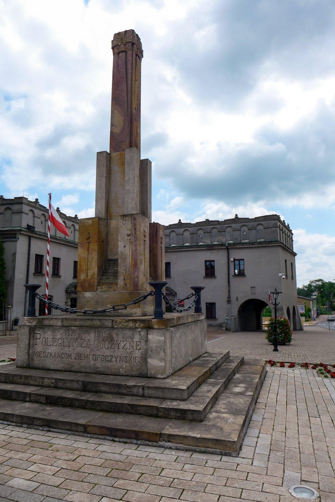 Zamek w Opocznie